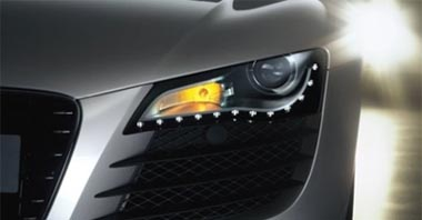 Led driving lights from AutomotionUK